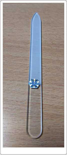 ブラジェク ガラス爪やすり 140mm 片面タイプ