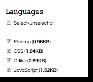 prismjs-Languages